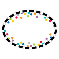 Bold & Bright Stripes/Dots Labels