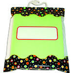 Dots On Black Storage Bag - Supplies by Teachers