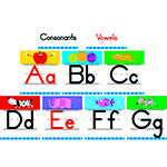 Alphabet Bulliten Board Set - Supplies by Teachers