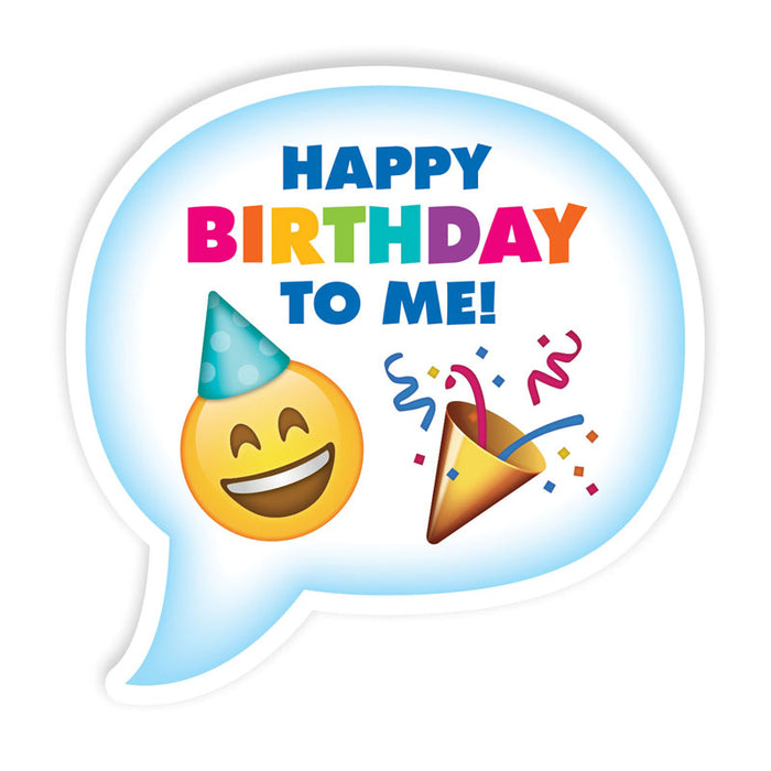 Emoji Fun Birthday Badges