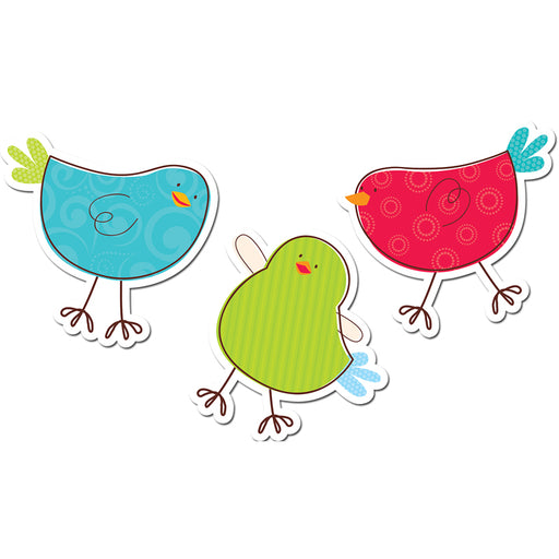 Tweeting Birds 6in Designer Cut Outs