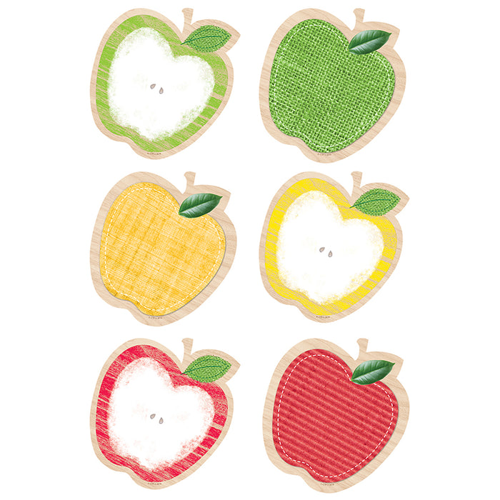 Apples 6in Cut Outs Upcycle Style