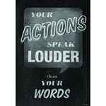 Your Actions Poster - Supplies by Teachers