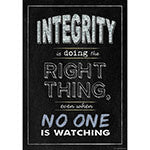Integrity Poster - Supplies by Teachers