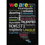 We Are Poster - Supplies by Teachers