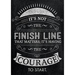 Its Not The Finish Line Poster - Supplies by Teachers