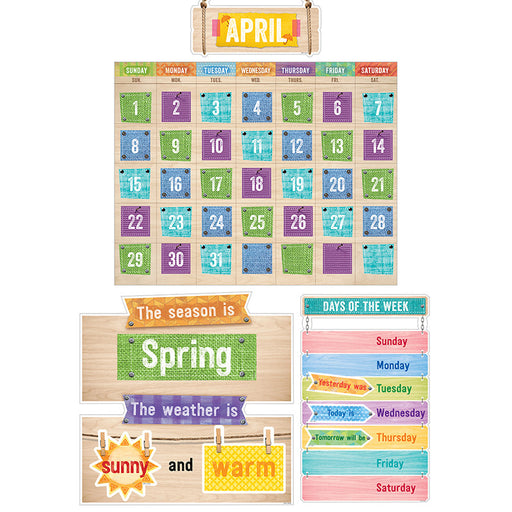 UPCYCLE STYLE CALENDAR BB SET - Supplies by Teachers