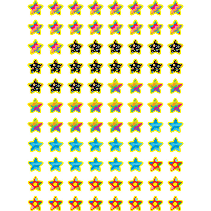 POPPIN PATTERNS STARS HOT SPOTS