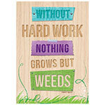Without Hard Work Inspire U Poster - Supplies by Teachers