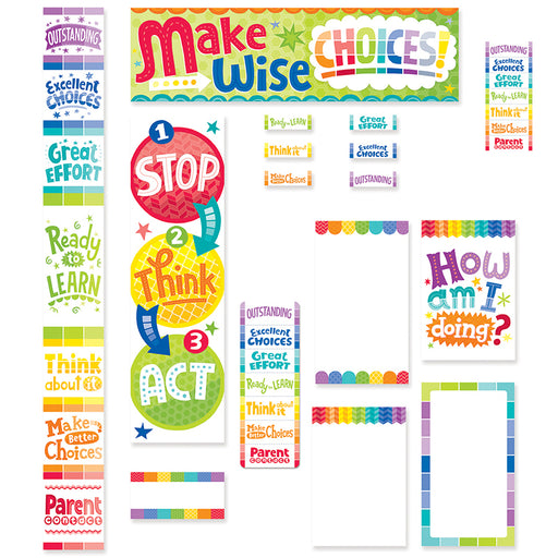Painted Palette Behavior Clip Chart & Desktop Clip Chart