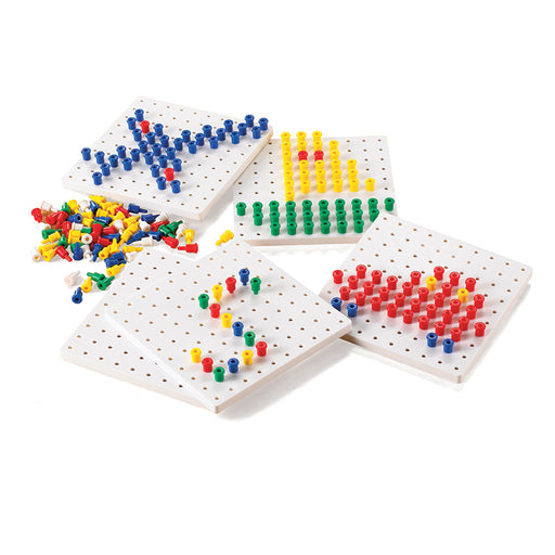 Pegs Peg Boards Set