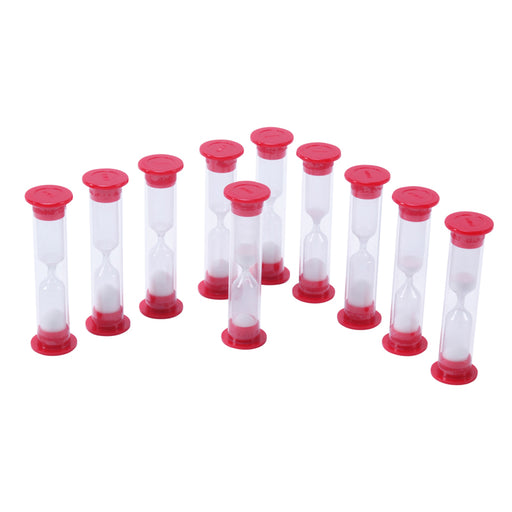 1 Minute Sand Timers Set Of 10