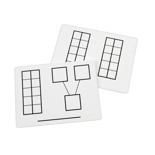 Write And Wipe Ten Frame Mats