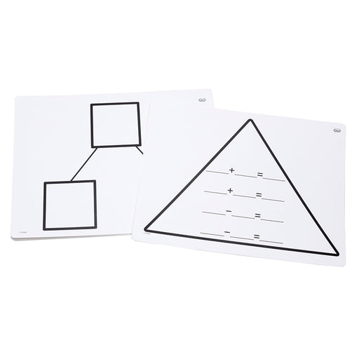 Write On Wipe Off Addition Triangl Mats