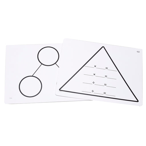 Write On Wipe Off Multipl Triangle Mats