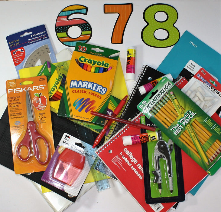 St. Ben's Middle School with Calculator (6 & 7) - Supplies by Teachers
