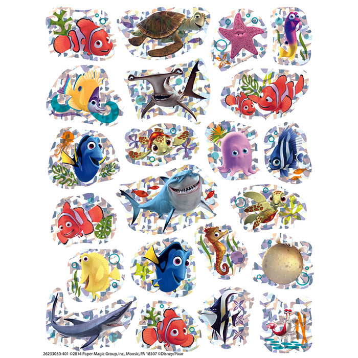 FINDING NEMO SPARKLE STICKERS