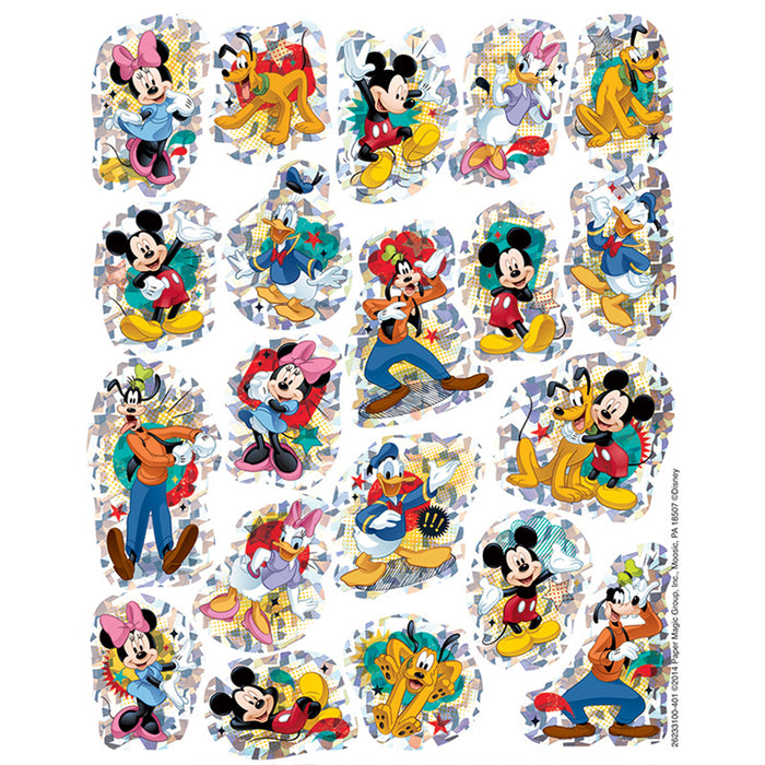 MICKEY SPARKLE STICKERS