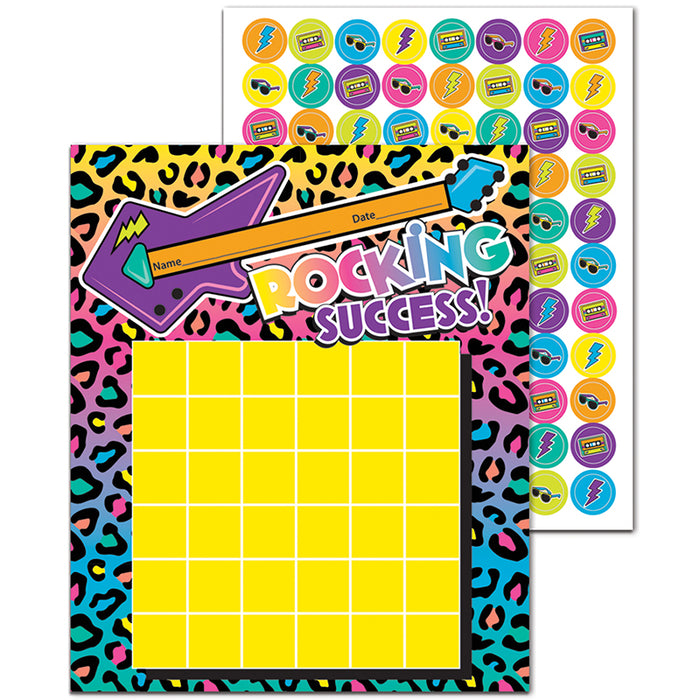 Rock The Classroom Mini Reward Charts With Stickers