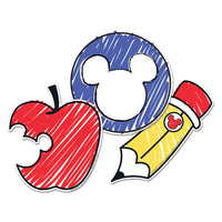 Mickey Color Pop Paper Cut Outs
