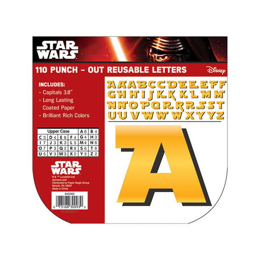 Star Wars Deco Letters - Supplies by Teachers