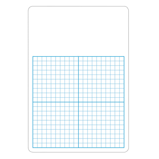 Single 1/2in Graph Dry Erase Board 11 X 16