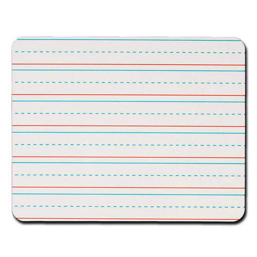 Rectangular Handwriting Lined 8pk Replacement Dry Erase Sheets