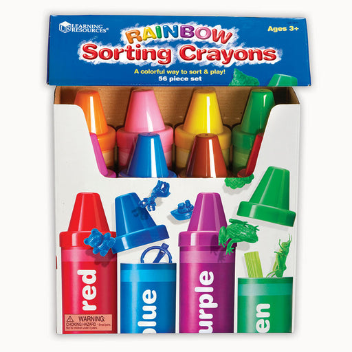 Rainbow Sorting Crayon