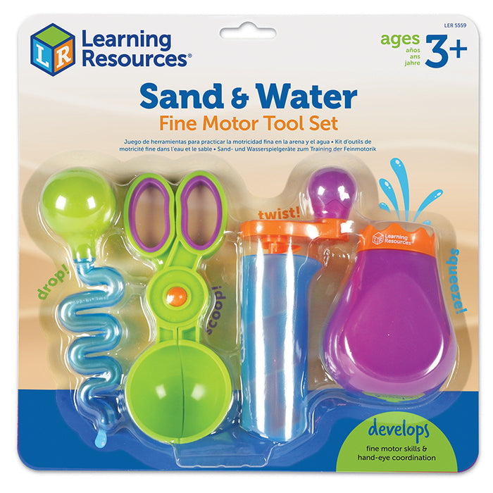 Sand And Water Fine Motor Set - Supplies by Teachers