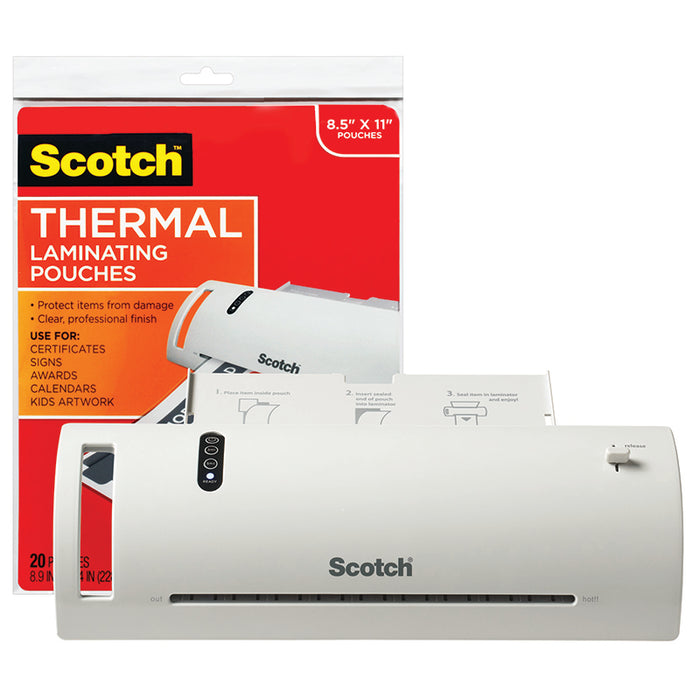 SCOTCH THERMAL LAMINATOR COMBO PACK - Supplies by Teachers