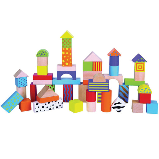 Wooden Blocks 50pcs
