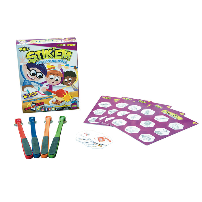 Stik Em Family Game - Supplies by Teachers