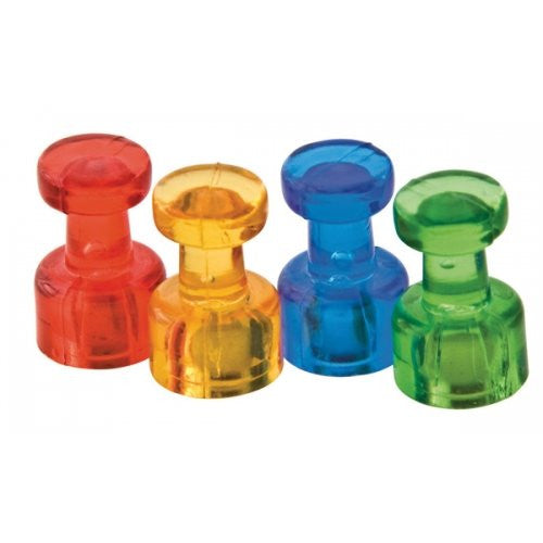 Push Pin Magnets 8 pack, multi-colored - Supplies by Teachers
