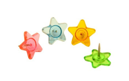 Push Pins Stars 16 Pack - Supplies by Teachers