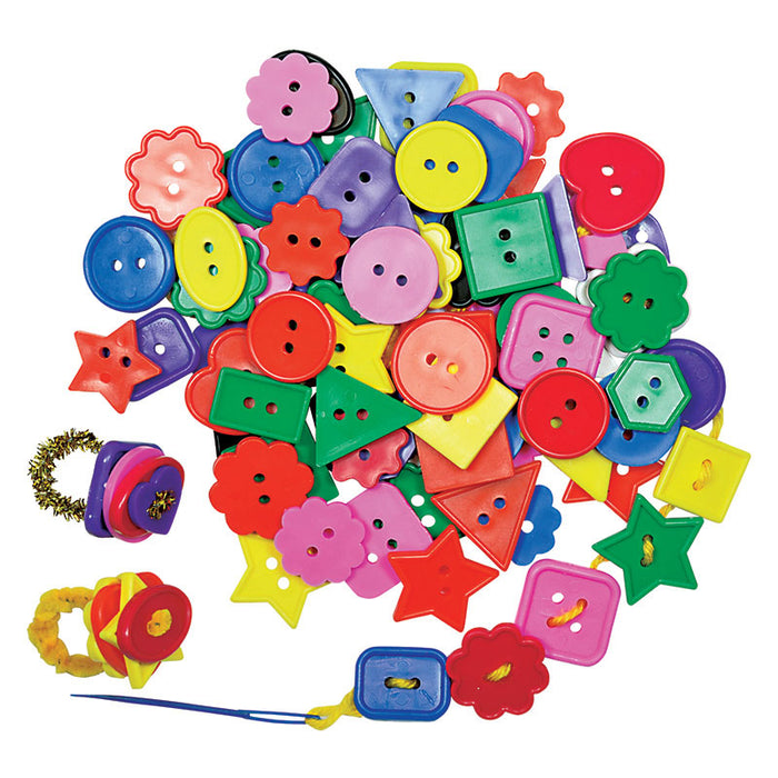 Bright Buttons 2 Lbs - Supplies by Teachers