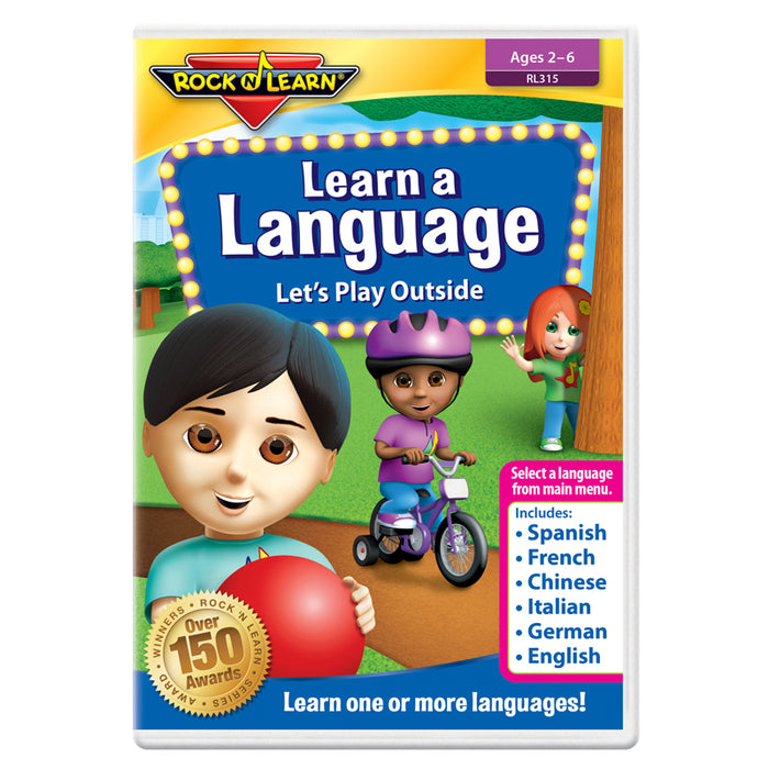 Rock N Learn Learn A Language Dvd - Supplies by Teachers