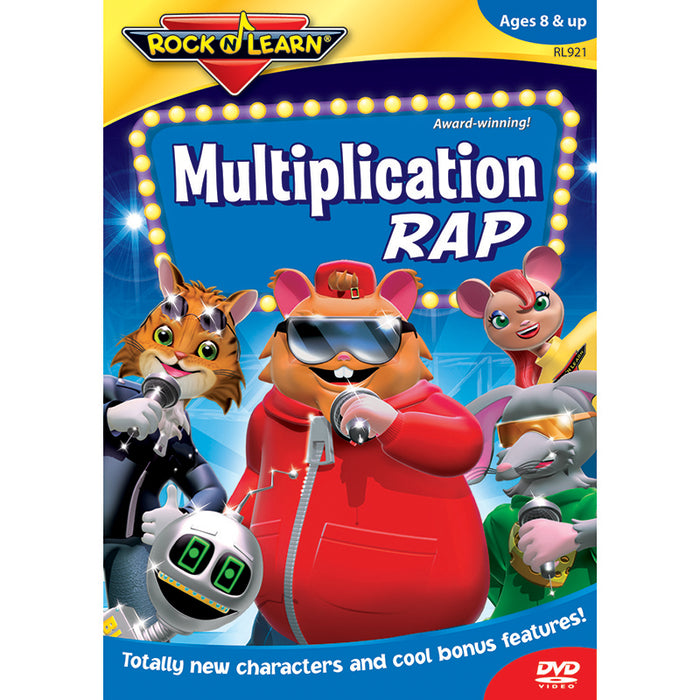 Multiplication Rap Dvd - Supplies by Teachers