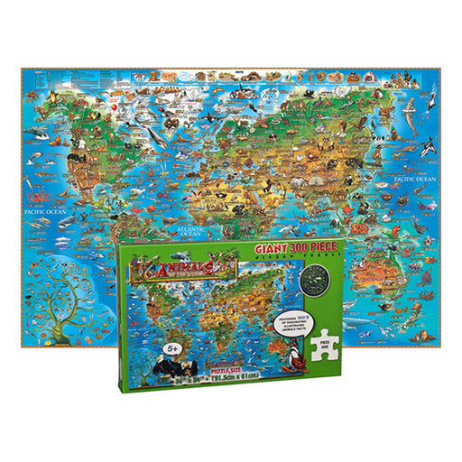 Animals Of The World Jigsaw Puzzle