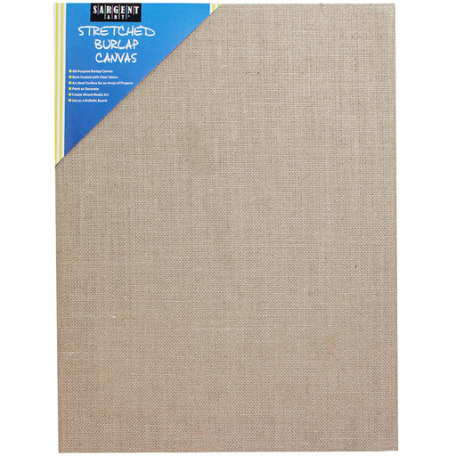 Stretched Canvas Burlap 16x24 - Supplies by Teachers