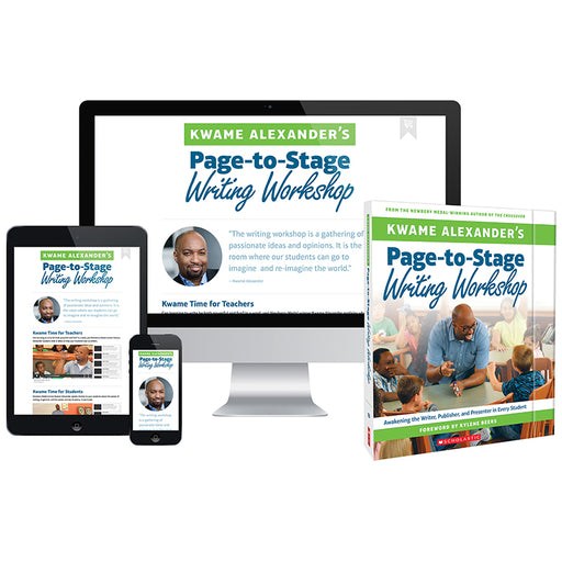 Kwame Alexanders Page To Stage Writing Workshop