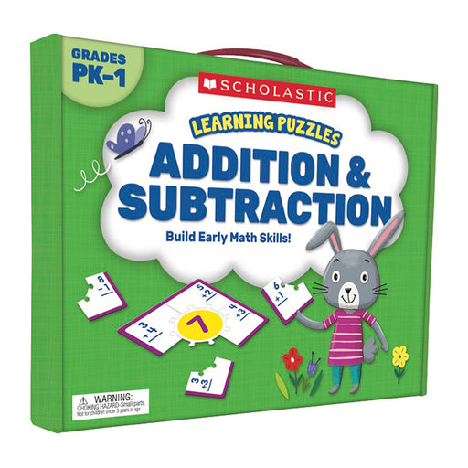 Addition And Subtraction Learning Puzzles