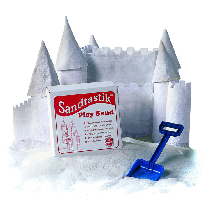 SANDTASTIK WHITE PLAY SAND 25LB BOX - Supplies by Teachers