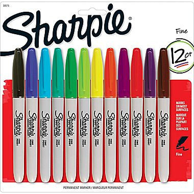 Sharpie 12 Pack - Supplies by Teachers