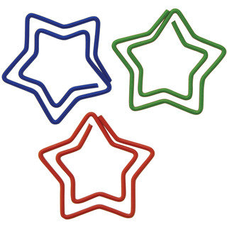 Star Paper Clips - Supplies by Teachers