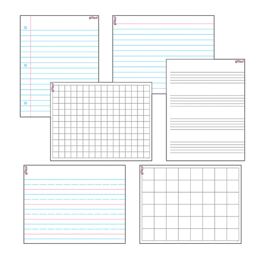 Wipe Off Papers & Grids Combo Pack
