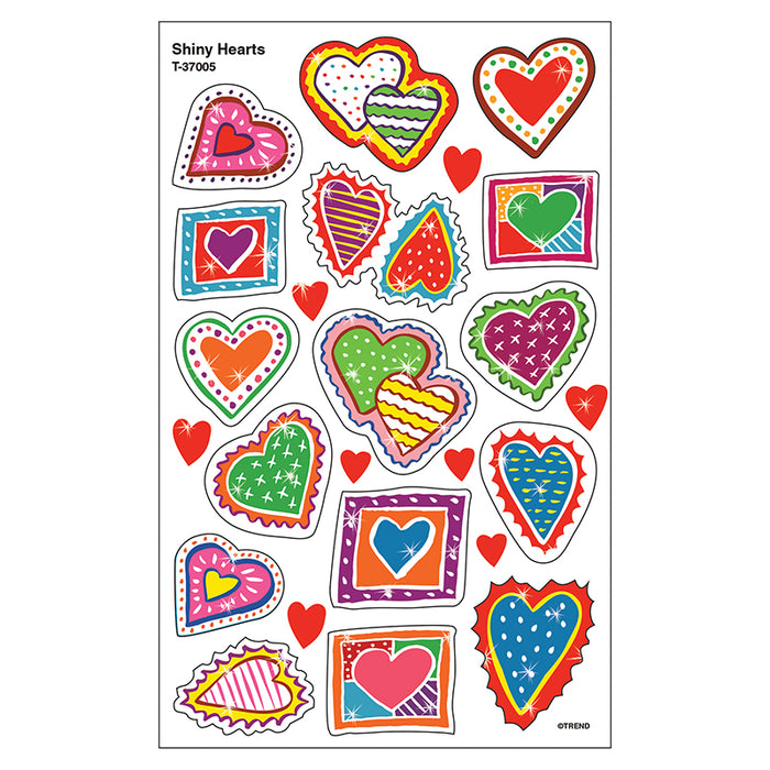 SHINY HEARTS STICKERS