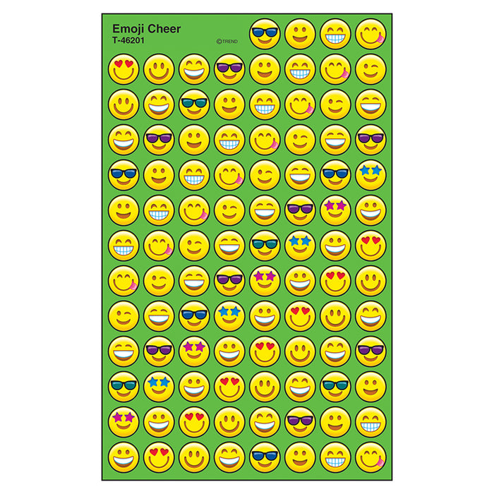 EMOJI CHEER SUPERSPOTS STICKERS
