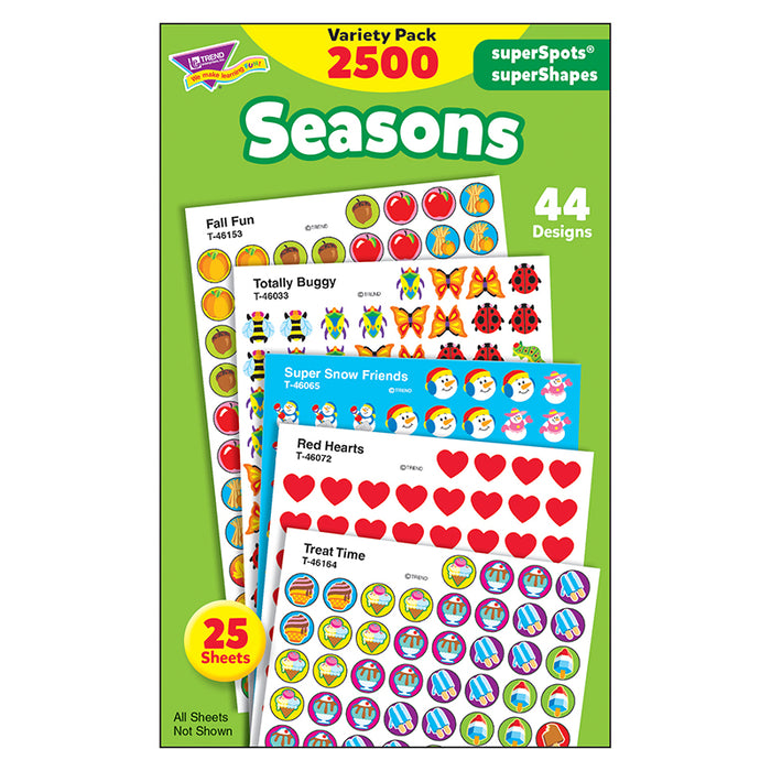 Stickers Seasons Colossal Variety Pk