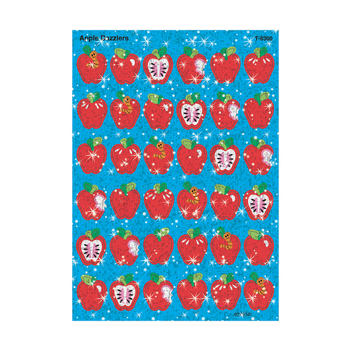 SPARKLE STICKERS APPLE DAZZLERS