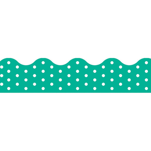 Polka Dots Teal Terrific Trimmers